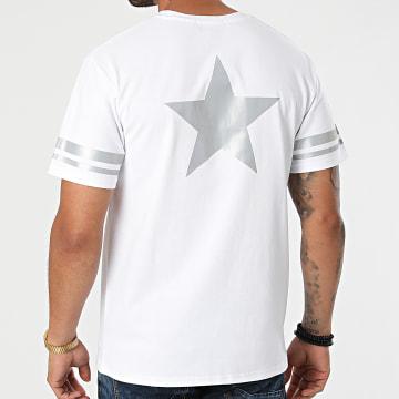 John H - Tee Shirt Réfléchissant T123 Blanc