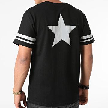 John H - Tee Shirt Réfléchissant T123 Noir