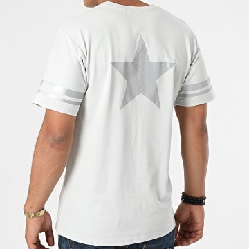 John H - Tee Shirt Réfléchissant T123 Gris