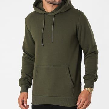 Only And Sons - Sweat Capuche Ceres Life Vert Kaki