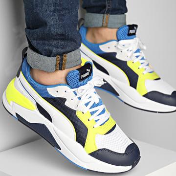 Puma - Baskets X-Ray 372602 Peacoat White Blue Yellow