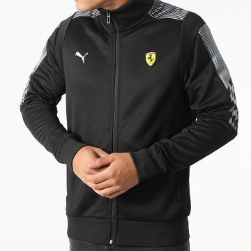 Puma - Veste Zippée Ferrari Race Noir