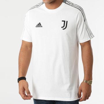 Adidas Performance - Tee Shirt De Sport A Bandes Juventus GR2971 Ecru