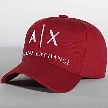Armani Exchange - Casquette 954039 Bordeaux