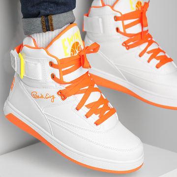 Ewing Athletics - Baskets 33 Hi 1BM01117 White Shocking Orange Lemon Tonic