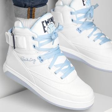 Ewing Athletics - Baskets 33 Hi 1BM01117 White Blue Bell Peacoat