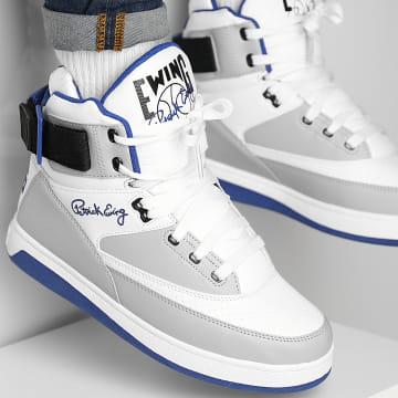 Ewing Athletics - Baskets 33 Hi 1BM01117 White Highrise Mazarine Blue