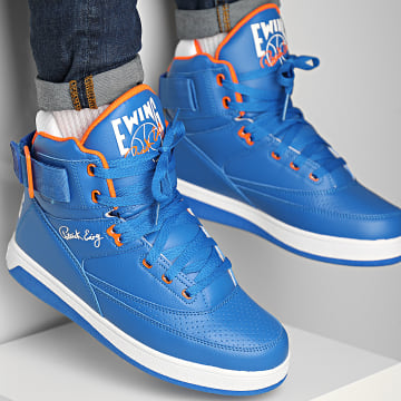 Ewing Athletics - Baskets 33 Hi 1BM00640 Prince Blue Vibrant Orange White
