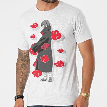Naruto - Tee Shirt MENARUTTS028 Gris Chiné