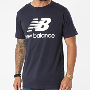 New Balance - Tee Shirt MT01575 Bleu Marine