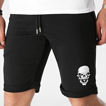 Untouchable - Short Jogging Skull Noir Blanc