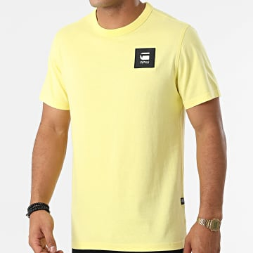 G-Star - Tee Shirt D18197-C336 Jaune