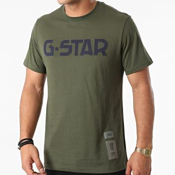 G-Star - Tee Shirt D20190-336 Vert Kaki