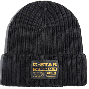 G-Star - Bonnet Rib Noir