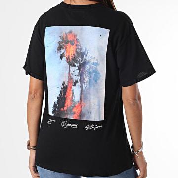Sixth June - Tee Shirt Femme W33063 Noir