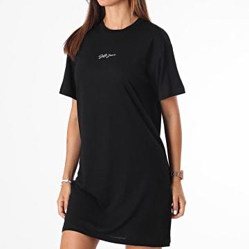 Sixth June - Robe Tee Shirt Femme W33062VTS Noir
