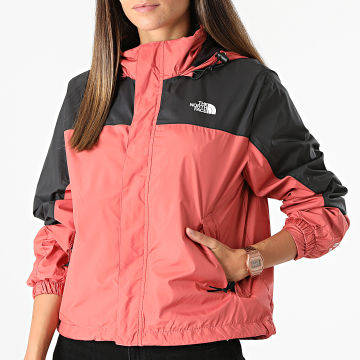 The North Face - Coupe-Vent Femme Crop Hydrenaline A53BT Rose