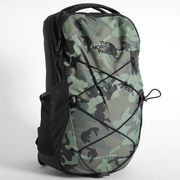 The North Face - Sac A Dos Jester Camouflage Vert Kaki