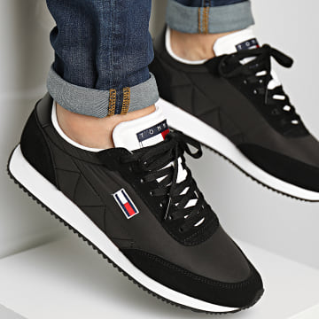 Tommy Jeans - Baskets Retro Low Runner Mix 0814 Black