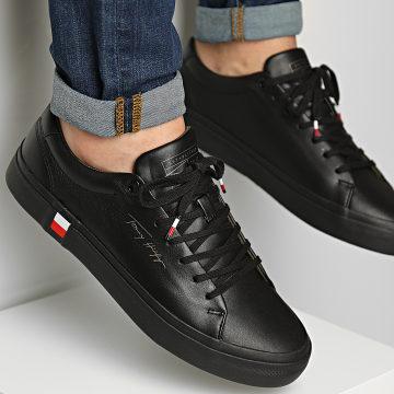 Tommy Hilfiger - Baskets Corporate Modern Vulcan Leather 3727 Black