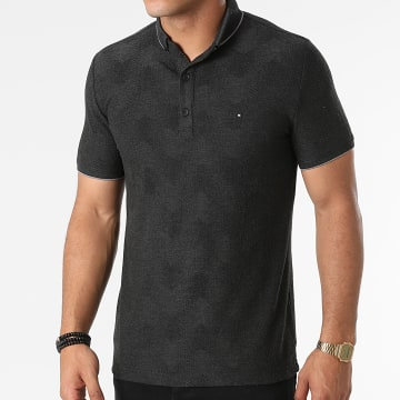 Classic Series - Polo Manches Courtes 21Y-1094 Gris Anthracite Chiné