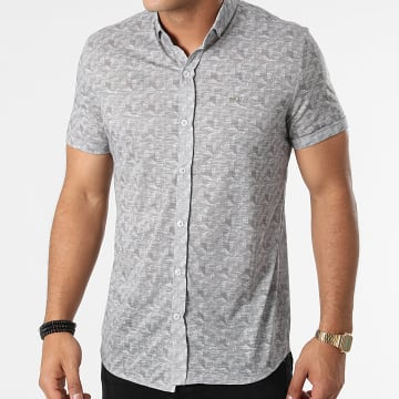 Classic Series - Chemise Manches Courtes 21Y-1127 Gris Anthracite