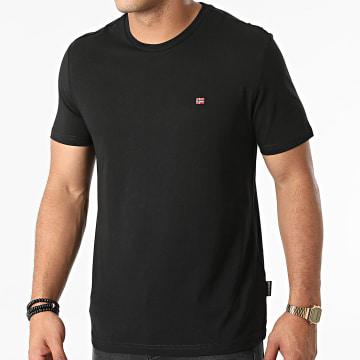 Napapijri - Tee Shirt Salis A4FRP Noir