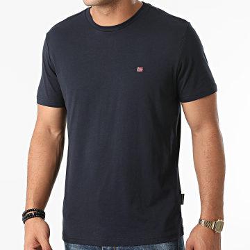 Napapijri - Tee Shirt Salis A4FRP Bleu Marine