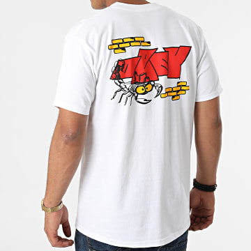 Obey - Tee Shirt Scorpion Blanc