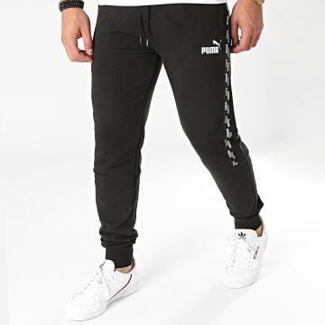 Puma - Pantalon Jogging A Bandes 589416 Noir