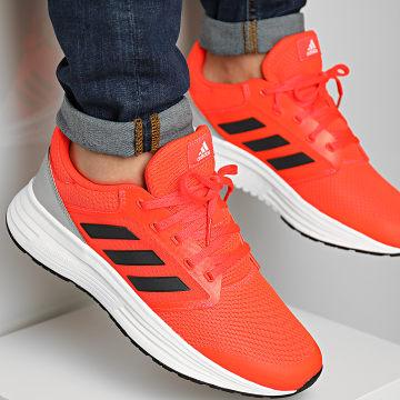 Adidas Performance - Baskets Galaxy 5 H04595 Solar Red Carbon Grey Two