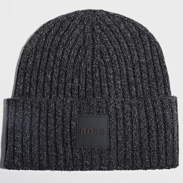 BOSS - Bonnet 50455947 Noir