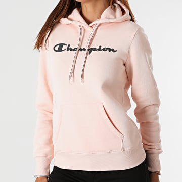 Champion - Sweat Capuche Femme 113207 Rose