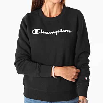 Champion - Sweat Crewneck Femme 113210 Noir