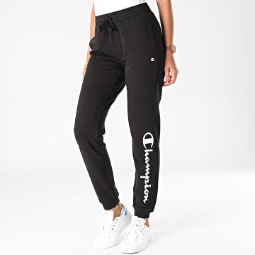 Champion - Pantalon Jogging Femme 113219 Noir