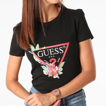 Guess - Tee Shirt Femme W1YI98-JA911 Noir