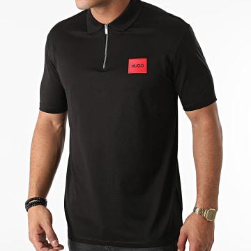 HUGO - Polo Manches Courtes 50458180 Noir