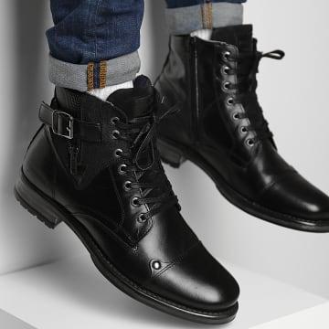 Redskins - Boots Yero LD681JZ Noir Gris