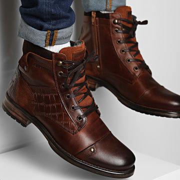 Redskins - Boots Yaniss JK401G9 Cognac Chataigne