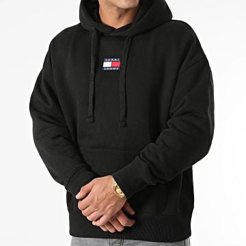 Tommy Jeans - Sweat Capuche Signature 2191 Noir