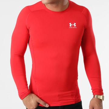Under Armour - Tee Shirt De Sport Manches Longues 1361524 Rouge