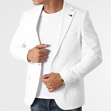Black Needle - Veste Blazer 20420 Blanc