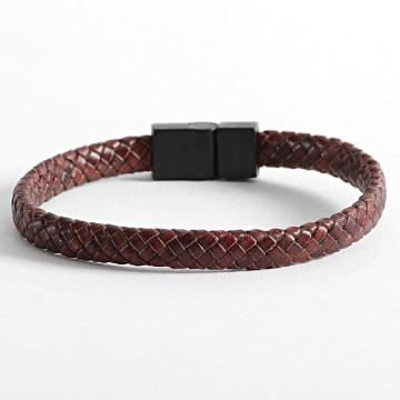 Black Needle - Bracelet BBN-521 Marron