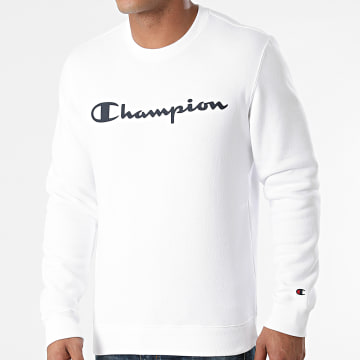 Champion - Sweat Crewneck 214744 Blanc