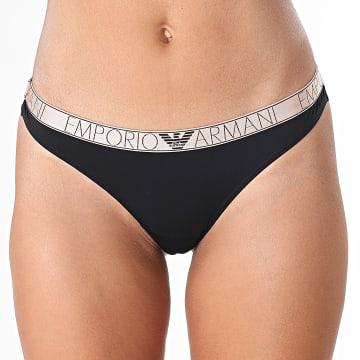 Emporio Armani - Culotte Brésilienne Femme 162948-1A235 Noir