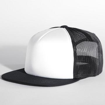 Flexfit - Casquette Snapback 6005FW Noir Blanc