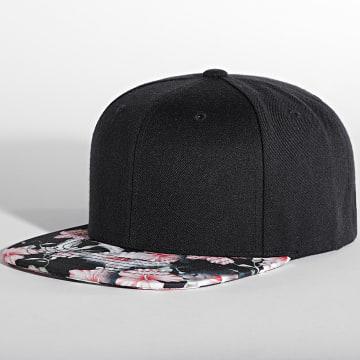 Flexfit - Casquette Snapback 6089F Noir Floral