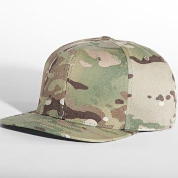 Flexfit - Casquette Snapback 6089MC Camouflage Vert Kaki