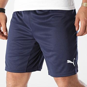 Puma - Short Jogging OM Replica 759296 Bleu Marine