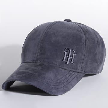 Tommy Hilfiger - Casquette Logo Cap 0058 Bleu Marine